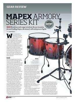 B80 Armory Cymbal Boom Arm