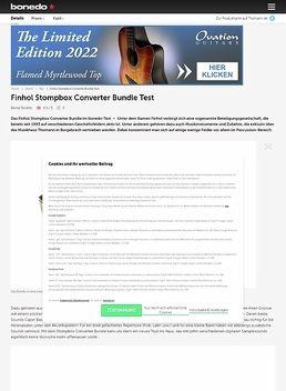 Stompbox Converter Bundle