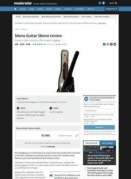 Guitar Sleeve (ASH)