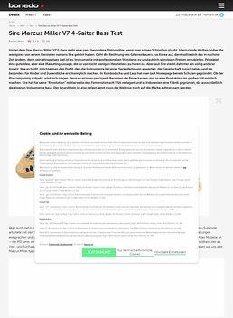 Marcus Miller V7 4-Saiter