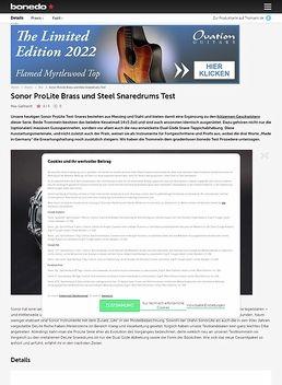 "14""x05"" ProLite Snare Steel"