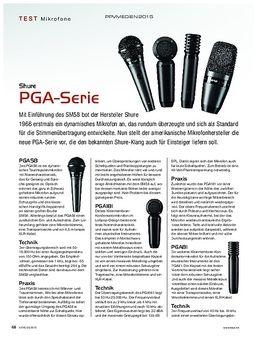 Shure PGA-Serie