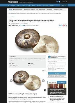 Zildjian K Constantinople Renaissance