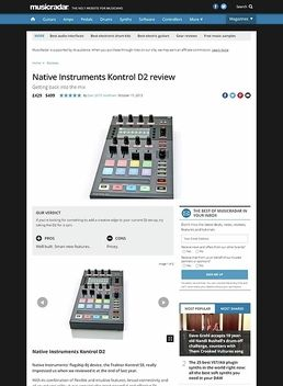 Native Instruments Kontrol D2