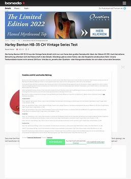 Harley Benton HB-35 CH Vintage Series