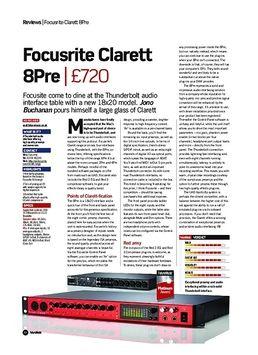 Clarett 8Pre