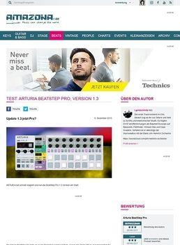 Test: Arturia BeatStep Pro, Version 1.3