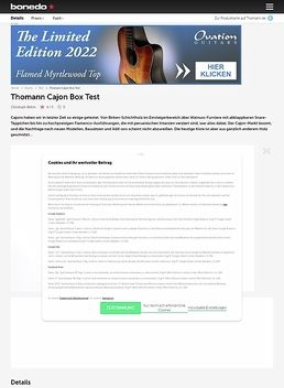 Cajon Box