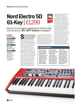 Nord Electro 5D 61-Key
