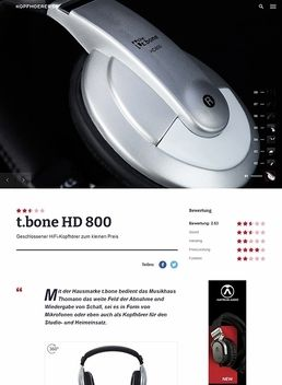 the t.bone HD 800