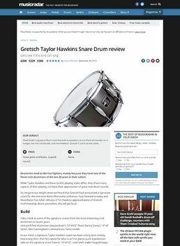 Gretsch Taylor Hawkins Snare Drum