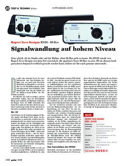 Rupert Neve Designs RNDI - DI-Box