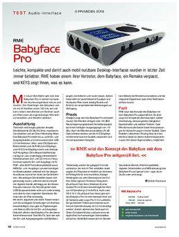 RME Babyface Pro