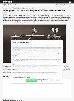 Tama Speed Cobra HP910LN Single & HP910LWN Double Pedal