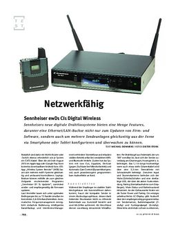 Sennheiser ewD1 CI1 Digital Wireless, Sende-Anlage