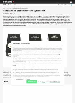 Finhol Air Kick Bass Drum Sound System