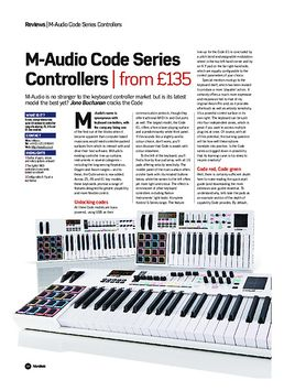 M-Audio Code Series Controllers