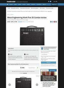 Mesa Engineering Mark Five 35 Combo