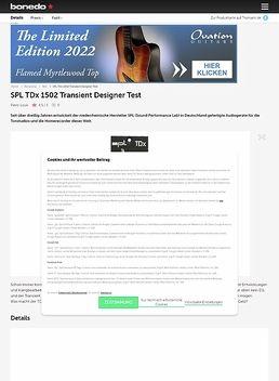 SPL TDx 1502 Transient Designer