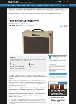 Roland Blues Cube Hot