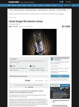 Violet Design The Atomic