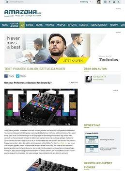 Test: Pioneer DJM-S9, DJ-Mixer