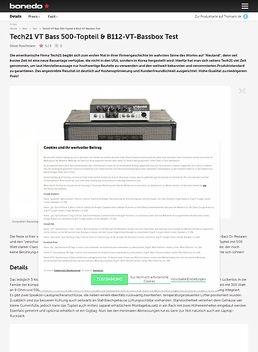 Bass VT 500