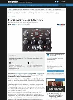 Source Audio Nemesis