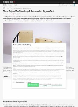 Backpacker Cajon