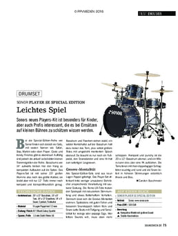 Sonor Player SE Special Edition