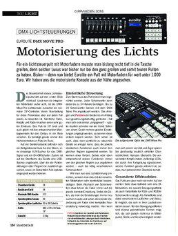 Eurolite DMX Move Pro