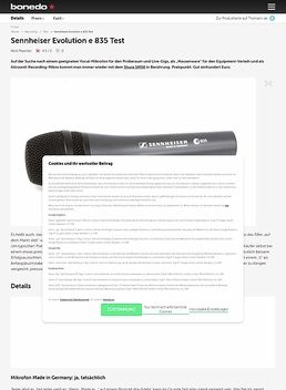 Sennheiser Evolution e835