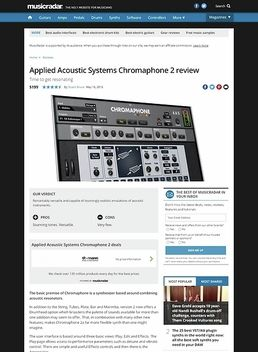 Applied Acoustic Systems Chromaphone 2