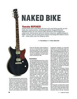 Yamaha RSP20CK, E-Gitarre