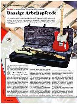 Fender American Elite Telecaster & Stratocaster