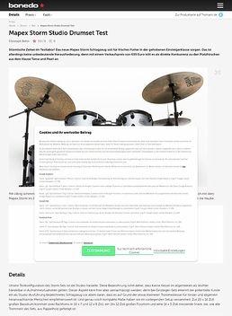 Mapex Storm Studio Drumset