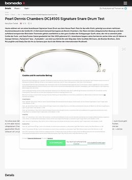DC1450S Dennis Chambers Snare