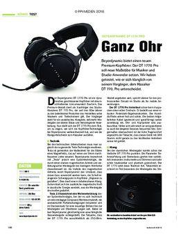 Beyerdynamic DT 1770 Pro - Ganz Ohr