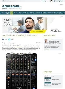 Test: Pioneer DJM-900NXS2, DJ-Club-Mixer