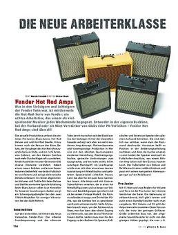 Fender Hot Rod Amps, Röhren-Combos