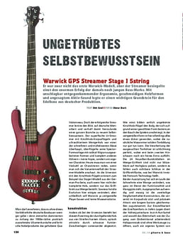 Warwick GPS Streamer Stage I 5string, E-Bass