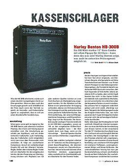 Harley Benton HB-300B, Bass-Combo
