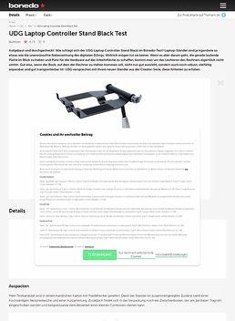 UDG Laptop Controller Stand Black