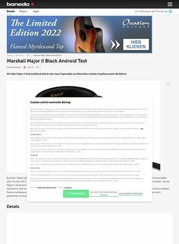 Major II Android Black B-Stock