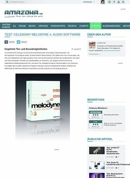 Test: Celemony Melodyne 4, Audio Software