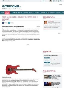 Pro Soloist SL2 Satin Red