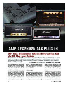 Marshall-Amps als UAD Plug-In von Softube