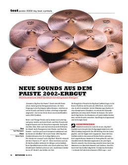 Paiste 2002 Big Beat Cymbals