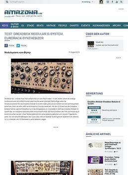 Test: Dreadbox Modular G-System, Eurorack-Synthesizer