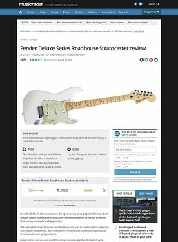 Deluxe Roadhouse Strat OWT
